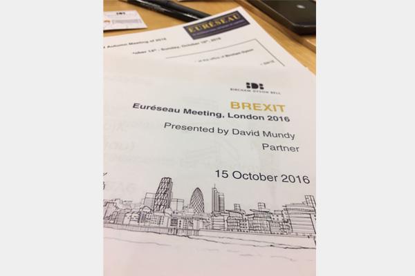 Euréseau Meeting Londra